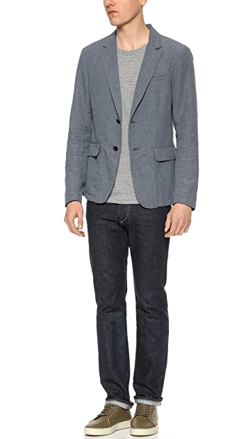 Rag & Bone Phillips 2 Button Blazer