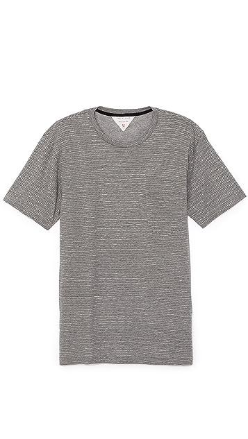 Rag & Bone Perfect Stripe Pocket T-Shirt