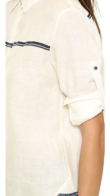 Rag & Bone Swan Button Down Shirt