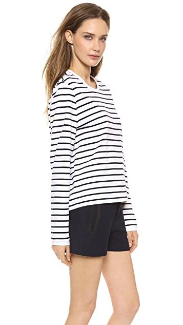 Rag & Bone Boy Long Sleeve Stripe Tee