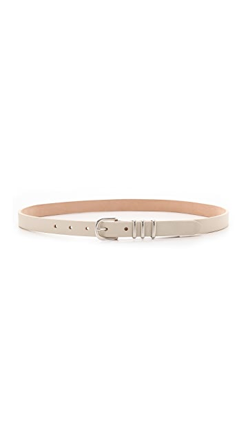 Rag & Bone Classic Jet Hip Belt