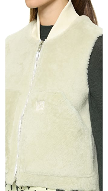 Rag & Bone Shearling Work Vest