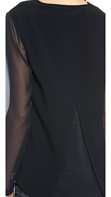 Rag & Bone Harper Long Sleeve Top