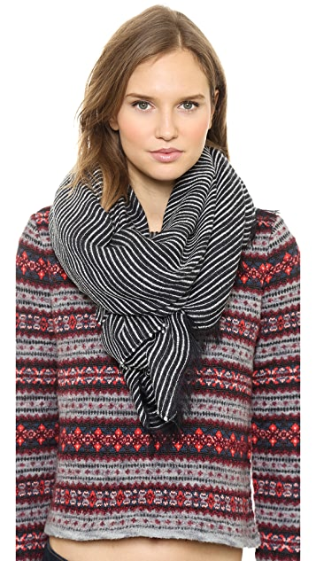 Rag & Bone Linton Striped Scarf