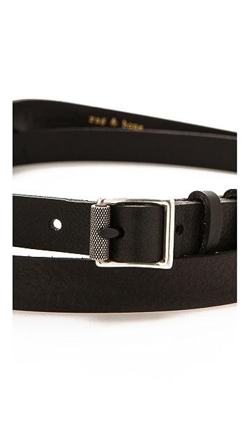 Rag & Bone Double Wrap Belt