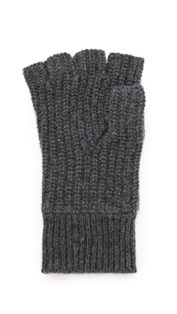 Rag & Bone Carson Cashmere Fingerless Gloves