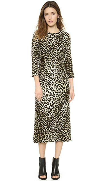 3852e99c4357 Rag & Bone Leopard Midi Dress | SHOPBOP