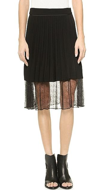 Rag & Bone Lyndale Pleated Skirt