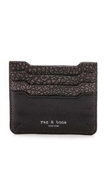 Rag & Bone Crosby Card Case