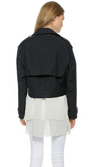 Rag & Bone Marshall Cropped Trench Jacket