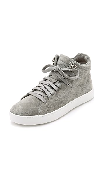 RAG&BONE Kent High-Top Suede Sneakers Gr. IT 40 B4dEy1A