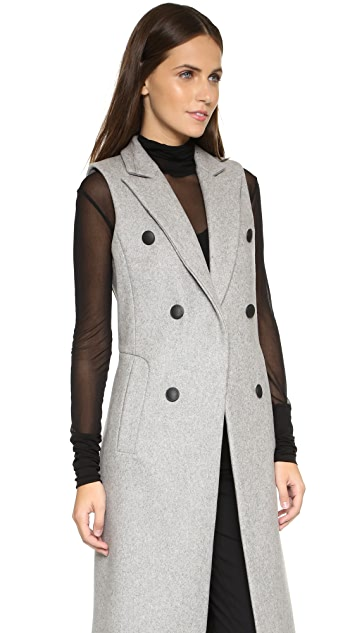 Rag & Bone Faye Long Vest