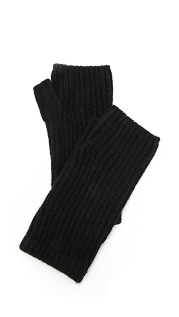Rag & Bone Alexis Fingerless Cashmere Gloves