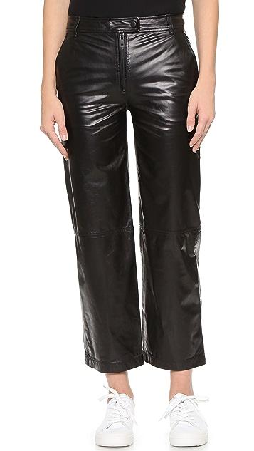 Rag & Bone Otille Leather Pants