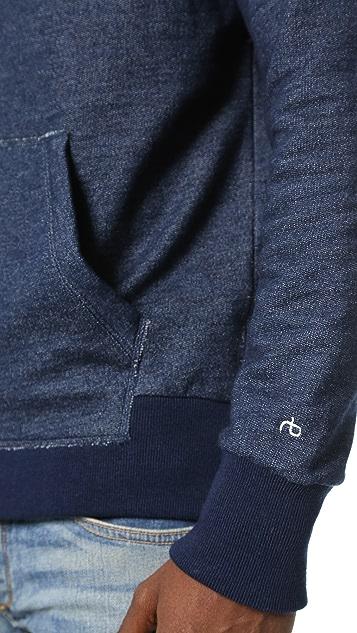 Rag & Bone Standard Issue Zip Hoodie