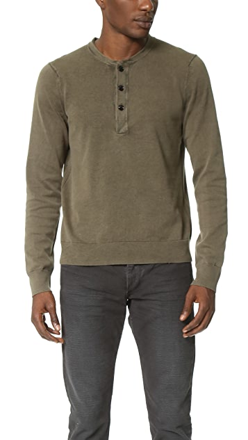 Rag & Bone Standard Issue Standard Issue Henley Sweater