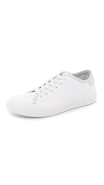 RAG&BONE Leather Sneakers with Fur Gr. IT 41 bc92R