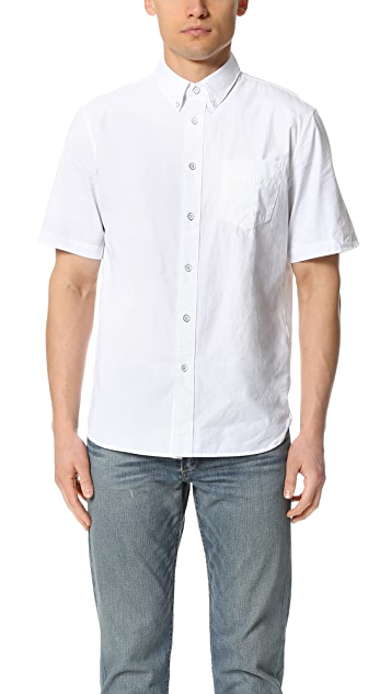 Rag & Bone Standard Issue Short Sleeve Standard Issue Shirt