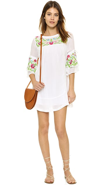 Rahi Embroidered Mini Dress