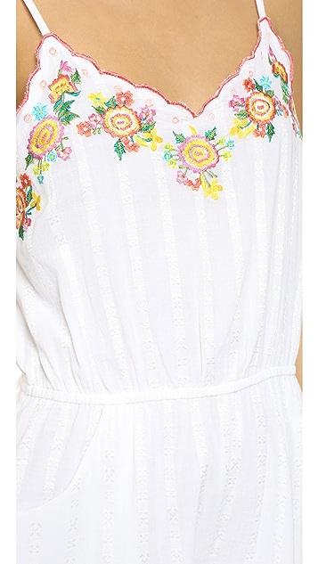 Rahi Embroidered Romper