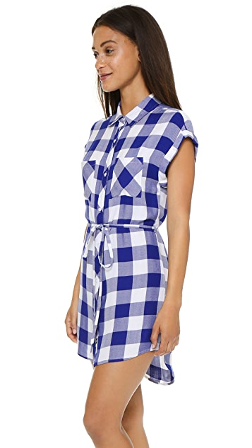 RAILS Brooke Button Down Dress
