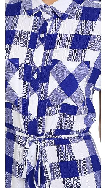 RAILS Brooke Button Down Dress