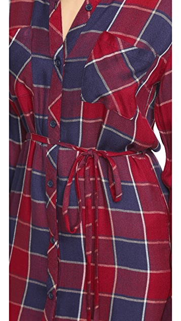 RAILS Nadine Button Down Dress