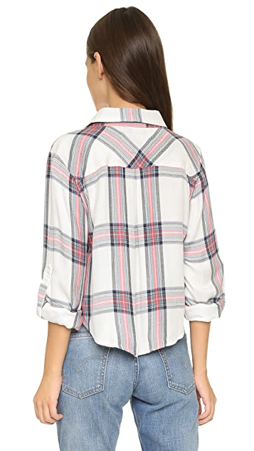 RAILS Rian Cropped Button Down