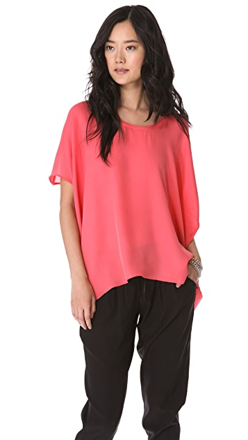 Ramy Brook Marissa Draped Tee
