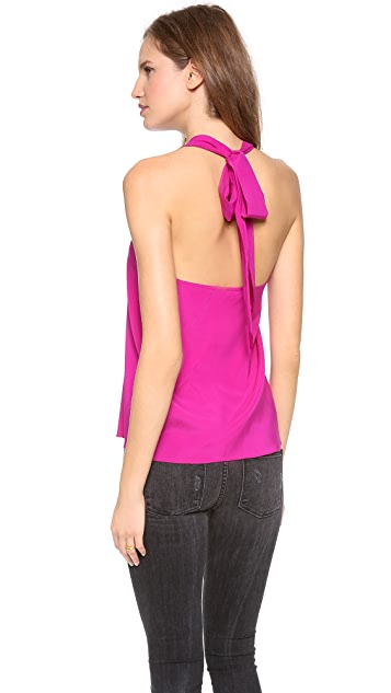 Ramy Brook Adele Halter Top with Scoop Back