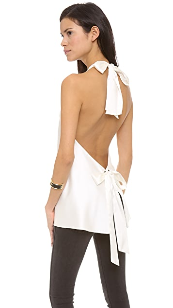 Ramy Brook Shane Tie Back Top