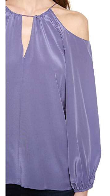 Ramy Brook Candice Cold Shoulder Top