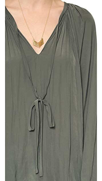 Ramy Brook Paris Caftan Blouse