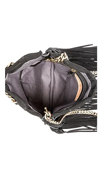 Ramy Brook Stevie Fringe Messenger Bag