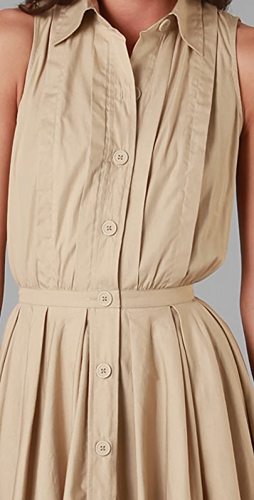 Raoul Sleeveless Shirtdress
