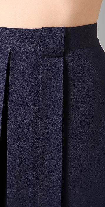 Raoul Box Pleated Skirt