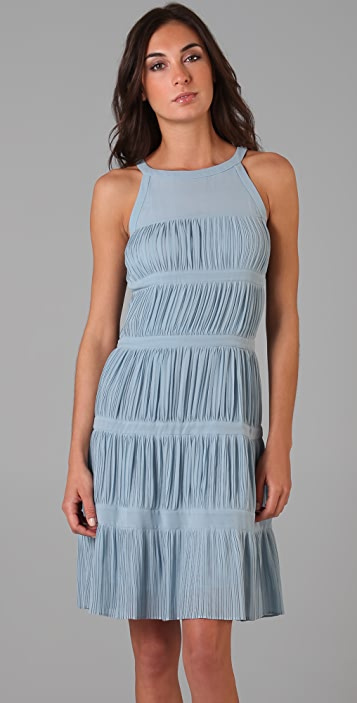Raoul Sleeveless Tiered Dress