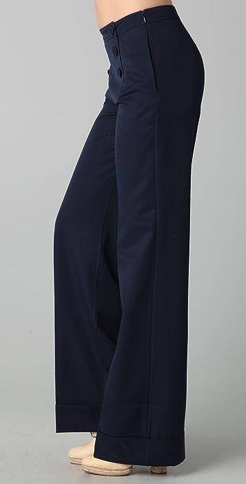 Raoul Fit 'N Flare Sailor Pants