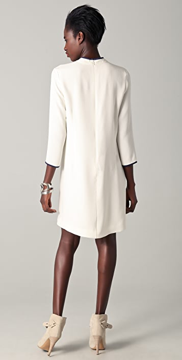 Raoul Carly Mock Neck Dress
