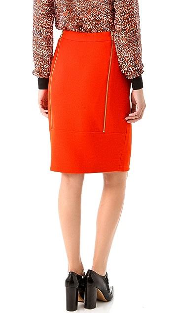 Raoul Double Zip Back Skirt