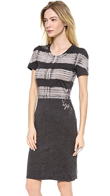 Raquel Allegra Short Sleeve Jersey Dress