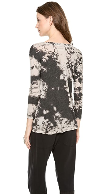 Raquel Allegra Long Sleeve Perfect Tee