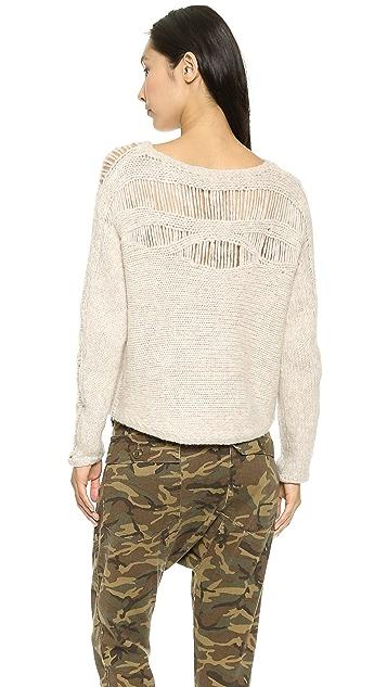 Raquel Allegra Deconstructed Pullover