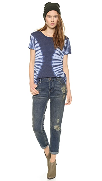 Raquel Allegra Short Sleeve Perfect Tee