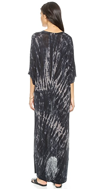 Raquel Allegra Boxy Silk Maxi Dress