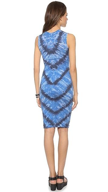 Raquel Allegra Sleeveless Fitted Tee Dress