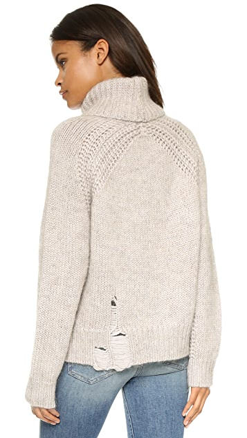 Raquel Allegra Turtleneck Pullover Sweater