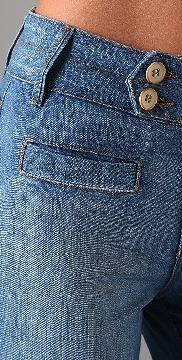 Raven denim orly high waist wide leg jeans