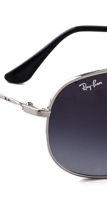 Ray-Ban Wrap Aviator Sunglasses