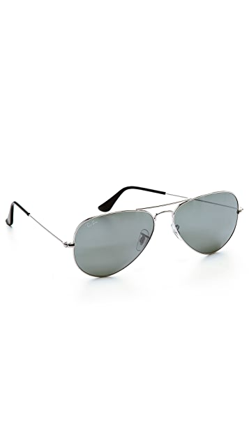 Ray-Ban RB3025 Mirrored Original Aviator Sunglasses